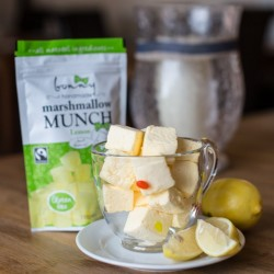 Lemon Marshmallows Munches