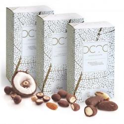 Gift Set of 3 Vegan Mylk Chocolate Nuts