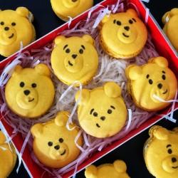 Cute Bear Macaron Box of 6