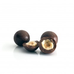 Hazelnuts Coated in Dark Chocolate (Buy in Weight)