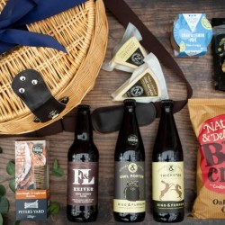 Ale and Cheese Trout Creel | Luxury Gift Hamper