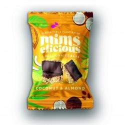 Coconut & Almond Cookie Dough Millionaire Bars   Vegan & Gluten-Free (Box of 12)