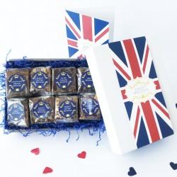 British Luxury Brownie Gift for 12 Months