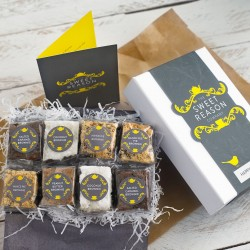 Luxury Brownie Gift for 12 Months