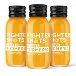 Natural Ginger + Turmeric Shots (12x 60ml)