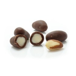 Brazil Nuts Coated in Vegemilk Chocolate (Buy in Weight)