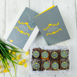 Luxury Brownie Gift for 6 Months