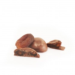 Apricots Coated in Almond Chocolate (Buy in Weight)