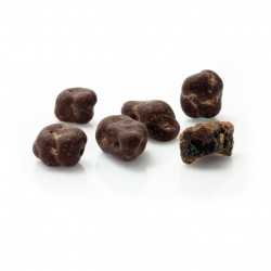 Banana Pieces Coated in Dark Raw Chocolate (Buy in Weight)