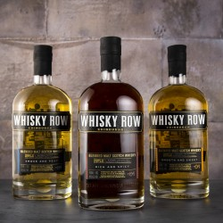 Whisky Row, Blended Whisky Triple Gift Set Collection, 3 x 70cl