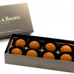 Luxury Handmade Chocolates - Vegan Rum Truffles (Box of 8)