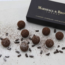 Luxury Handmade Chocolates - Rum Truffles (Box of 8)