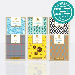 6x Chocolate Bars Letterbox Collection
