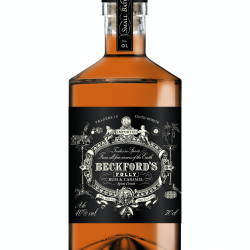 Beckford's Folly 'Caramel Rum' 40% ABV