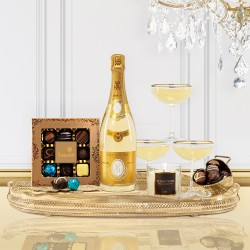 Luxury Cristal Champagne Christmas Gift Box