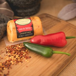 Hot and Spicy Cheddar Cheese Barrel (145g)