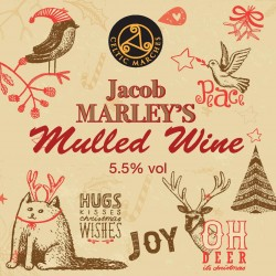 Jacob Marley's 5.5% Mulled Wine 10L/17.5 Pint Bag In Box