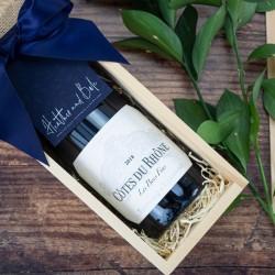 Cotes du Rhone White Wine Gift Box