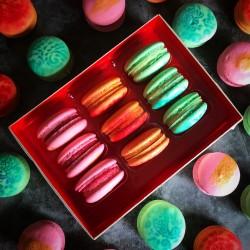 Vegan Sparkling Macaron Selection Box