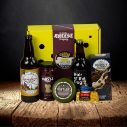 18th Birthday Cheese and Beer Gift Box