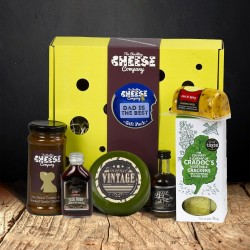 """Dad is the Best"" Cheese Gift Box"