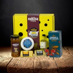 18th Birthday Cheese and Gin Gift Box