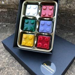 Chocolate Lego Box | Back to Childhood (6 Lego Chocolates)