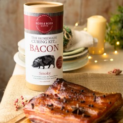 Make Your Own Smoky Cured Bacon Gift Tube