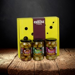 Spicy Comedy Trio Pickled Onion Gift Set