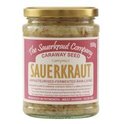 Unpasteurised Sauerkraut with Caraway Seed (500g)