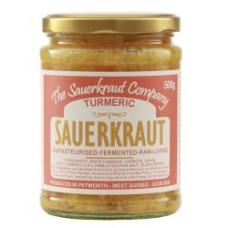 Unpasteurised Turmeric Enriched Sauerkraut (500g)