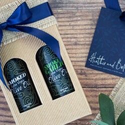 Northumbrian Smoked Olive Oils Gift Pack
