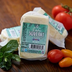 Halloumi Style Mint Squeaky Cheese (220g)