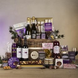 Twelfth Night Luxury Christmas Hamper with Prosecco