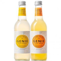 Genie Live Sodas: Mixed case (12 bottles)