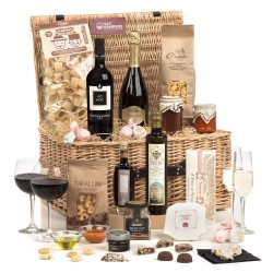 Gusti Italiani - Tastes Of Italy Hamper in Wicker Basket