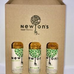 Newton's Appl Fizzics 3 Bottle Gift Box - Just Apple