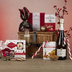 The Mistletoe Christmas Hamper with Prosecco
