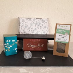 Moroccan Mint Tea and Mint Chocolate Gift Hamper Box