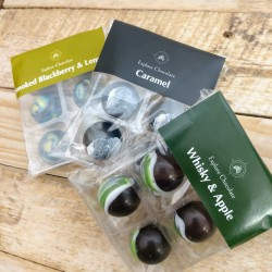 Vegan Dark Chocolate Bon Bon 6 Pack Taster Set