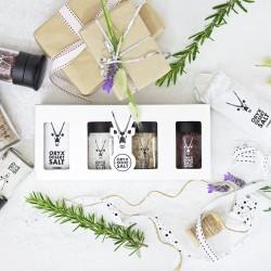 Kalahari Desert Smoked & Wine Salt Gift Pack (325g)