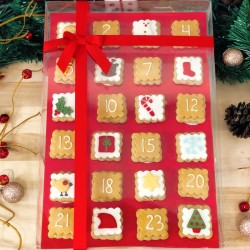 Christmas Gingerbread Advent Calendar