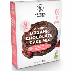 Organic Chocolate Cake: Gluten Free, Dairy Free, Vegan Friendly and Deliciously All-Natural Cake Mix (Makes 1 Cake)