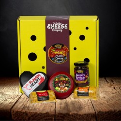 Chilli Lovers Cheese Gift Box