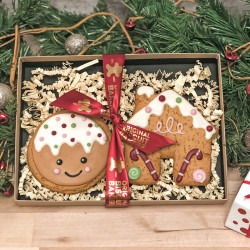 Christmas Gingerbread Man and House Duo Pack