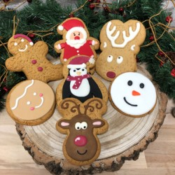 Christmas Assorted Gingerbread Party Pack