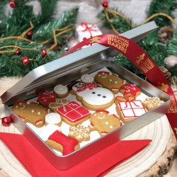 Christmas Biscuit Gift Tin