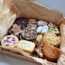 Festive Biscuit Gift Hamper / Cookie Box