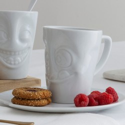 White Porcelain 'Tasty' Mug by Tassen