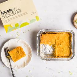 Gluten & Refined Sugar Free Lemon & Lime Polenta Cakes (Pack of 4)